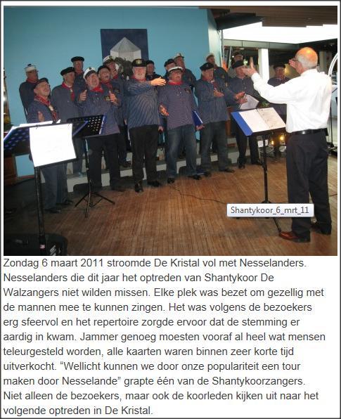 verslag optreden Nesselande